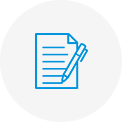 A paperwork icon.