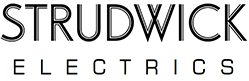 The Strudwick Electrics logo.